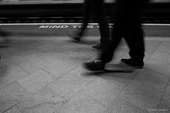 Feet (Jemma Graham) Tags: street uk travel england motion blur feet station train birmingham unitedkingdom britain transport platform rail gb ricohgr westmidlands newstreetstation november2015