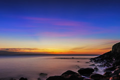 Puna Point Sunset - Long Exposure (Zeta_Ori) Tags: longexposure sunset beach island hawaii islands pacific puna napili napilibay imagestacking napilikaibeachresort nikond90 punapoint