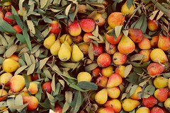 Small pears in Sicily (ghismou1981bo) Tags: nature colors fruit colorful pears sicily frutta mercato sicilia siracusa ortigia