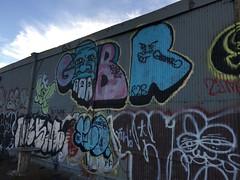 IMG_5496 (Hypurban) Tags: nyc newyork abandoned brooklyn graffiti head warehouse wax smells abandonedwarehouse brooklyngraffiti waxhead graffitiyard cash4