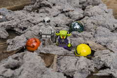 Nesting (Busted.Knuckles) Tags: home fun backyard lego aliens marbles minifigures