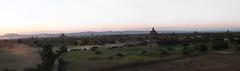 "Bagan: coucher de soleil depuis la pagode Pyathada Paya <a style=""margin-left:10px; font-size:0.8em;"" href=""http://www.flickr.com/photos/127723101@N04/23374883961/"" target=""_blank"">@flickr</a>"