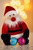 ho ho ho (happy flickr holidays bokeh) (Sabinche) Tags: macro indoor bokeh santa holiday christmas chocolate flickr macromondays flickrcolors light sweets festive canoneos5dmarkiii sabinche