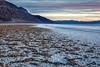 Salted Playa (Kirk Lougheed) Tags: badwaterbasin badwaterroad california deathvalley deathvalleynationalpark usa unitedstates landscape mountains mud nationalpark outdoor playa saltflat sunset