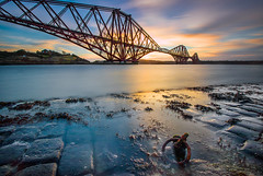Forth  Bridge (Mark Callander) Tags: firth forth bridge scotland sunrise