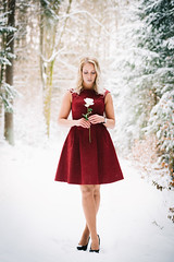 Snow Princess (a.heinhold) Tags: rose portrait deutschland hersbruck art orte happurg flower person deckersberg outdoor onlocation cold natur snow face woman girl longhair beautiful winter adult eyes people style model fashion colour ice