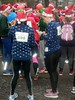 Ugly Sweater Run 2016 (Quetzalcoatl002) Tags: santa santarun running uglysweater event start crowd red santaclaus outfit people group sports fun amsterdam girls