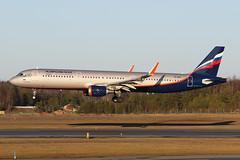Aeroflot - Russian Airlines Airbus A321-211(WL) VP-BAF 161226 ARN