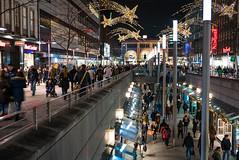 Hannover Bahnhofstraße (hdw2000) Tags: hannover bahnhofstrase weihnachten beleuchtung