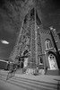 St Francis (jackseyeview) Tags: quincy il illinois stfrancis church scaffolding nikon wide lens