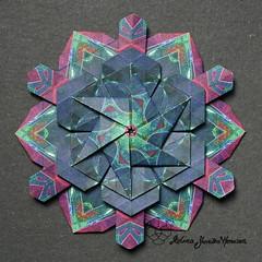 Iimori Mika D (Day 93) (Yureiko) Tags: yureiko tessellation papierfalten papier origami paperfolding paper