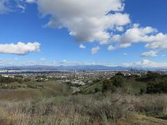 Looking across the LA Basin (Kelson) Tags: losangeles hahnpark kennethhahnstaterecreationarea california sangabrielmountains skyline dtla downtownlosangeles hills