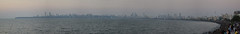 Marine Drive (Debatra) Tags: mumbai bombay skyline sky skyporn maharashtra india sea seaface marinedrive queensnecklace arabiansea water