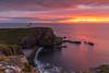 A Lighthouse Sunset .. (Gordie Broon.) Tags: sunset stoerlighthouse assynt sutherlandshire raffin stoerpeninsula culkein balchladich clashmore clashnessie seascape scotland schottland paysagemarin seestuck marina theminch lochinver ecosse zeegezicht clachtoll szkocja escocia cliffs beach caledonia scozia sky clouds alba gordiebroonphotography cluasdeas scottishhighlands northwestscotland canon5dmklll canon1635f4l geotagged coastal