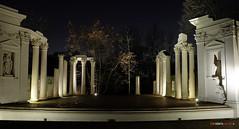 Anfiteatro parco Lazienki (Roberto Marzola) Tags: anfiteatro parcolazienki varsavia architettura notturno tourist attraction architecture