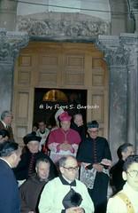 Teggiano (SA), 1978, Festa di San Cono. (Fiore S. Barbato) Tags: cardinale ursi italy campania vallo diano teggiano festa feste san cono sancono processione cente centa cinti cinto