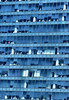Bankers Glass Office (Philip Osborne Photography) Tags: glass building charlotte nc uptown bankers cubicles blue architecture