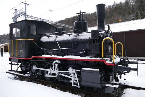 Dampflok E 3/3 Tigerli 1897 Sihltal Bahn Steam Train Switzerland