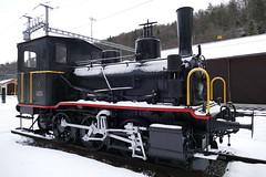 Dampflok E 3/3 Tigerli 1897 Sihltal Bahn Steam Train Switzerland