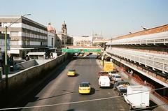 major traffic (kbryan1992) Tags: plaza de los mariachis guadalajara jalisco mexico leica m6 voigtlander nokton 35 porta 400