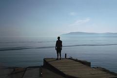 Listvyanka, Russia, 2015 (jamiehladky) Tags: listvyanka russia lakebaikal baikal lake russian travel silhouete water horizon mediumformat film 120 6x9 fuji6x9 gw690 gw690iii jamiehladky hladky