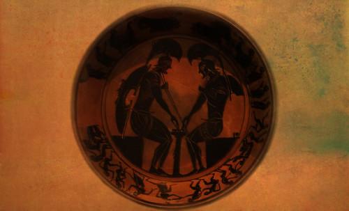"Petteia - Ludus Latrunculorum  / Iconografía de las civilizaciones helenolatinas • <a style=""font-size:0.8em;"" href=""http://www.flickr.com/photos/30735181@N00/32481383836/"" target=""_blank"">View on Flickr</a>"