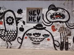 Hey Hey (Randy Spitzer) Tags: instagramapp square squareformat iphoneography uploaded:by=instagram graffiti puerto vallarta street art heyhey hey