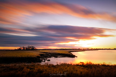 Birth of a Sunrise* (Simmie | Reagor - Simmulated.com) Tags: 2017 connecticutphotographer eastrivermarsh farmerswharf february guilford guilfordslittlemotif landscape landscapephotography nature naturephotography outdoors saltmarsh seascape sunrise unitedstates digital https500pxcomsreagor httpswwwinstagramcomsimmulated inlet wwwsimmulatedcom