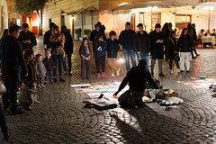 Streetart in Trastevere (Edwin Verhulst) Tags: streetart street art people trastevere rome roma italy italia