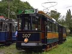GVB 307+792 EMA Bovenkerk (eddespan (Edwin)) Tags: tram streetcar museumtram gvb trammuseum tramwaymuseum strasenbahn amsterdamsetram tweeasser