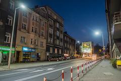Bielsko-Biaa (nightmareck) Tags: twilight fuji dusk poland polska led handheld fujifilm bluehour bielskobiaa xe1 zmierzch podbeskidzie owietlenie xf18mm