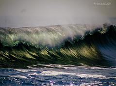 Antofagasta Chile wave (franco.seura) Tags: chile sea green nature colors wave bodyboard bigwave chilenatural
