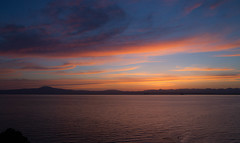 Goodbye Summer (Simos1968) Tags: sunset sea seascape colors relax outdoor greece bluehour goldenhour endlessview