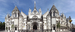 The Royal Courts of Justice (lcfcian1) Tags: city england sky panorama building london justice amazing pano capital royal sunny panoramic courts the theroyalcourtsofjustice