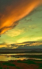 BELLOW LIKE A BULLFROG (Irene2727) Tags: light sunset nature water colors utah ngc warmth lakepowell bullfrogbay bullfrogmarina