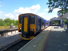 150248 at Bere Alston (3) (Marky7890) Tags: station train railway devon sprinter dmu fgw berealston 150248 2g74