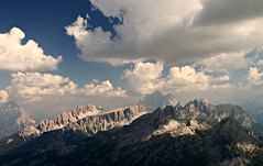 (claudiophoto) Tags: panorama alps clouds montagne diamond unesco rocce vette dolomites italianalps dolomiti alpin landcsape cortinadampezzo antelao dolomitibellunesi colorphotoaward dolomitiampezzane dolomitidampezzo