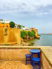 Kasbah of the udayas (akram elhadi) Tags: beach apple morocco rabat kasbah oudaya iphone6