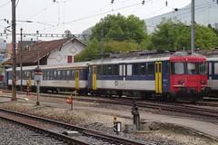 OeBB Electric motor unit type RBe 200 N 205 with a shuttle train. (Franky De Witte - Ferroequinologist) Tags: de eisenbahn railway estrada chemin fer spoorwegen ferrocarril ferro ferrovia
