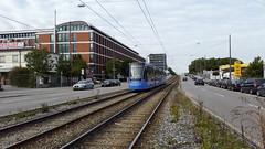2805 MVG, Am Lokschuppen, Mnchen [DE] (dolanansepur) Tags: public munich siemens tram rail transportation schienen mnchner mvg avenio strasenbahn verkehrsgesellschaft twagen