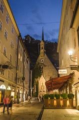 Blue hour in Salzburg... (Peppis) Tags: blue salzburg night austria österreich nikon nightlights bluehour nationalgeographic salisburgo nightimage peppis anticando hccity nikond7000 nikonclubit