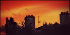 *Sunset over Cheltenham...*
