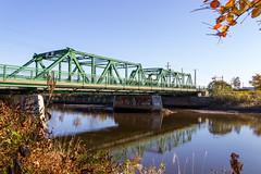The Bridge - 2 (POStaes) Tags: bridge autumn water st canon river eos quebec charles t3i 600d
