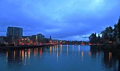 Morning Lights (Bricheno) Tags: bridge sunrise reflections river scotland riverclyde clyde glasgow escocia szkocja schottland scozia cosse  esccia   bricheno scoia