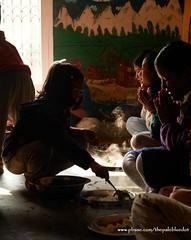 Thanking God - Ama Ghar Home, Nepal