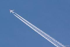 Norwegian 787 dreamliner (Mauro Grimaldi) Tags: cruise blue sky norway contrail norwegen norwegian northsea boeing scandinavia norvegia scandinavian msc b787 scie maredelnord boeing787 msccrociere msccruise norwegianair skyhight crocieranordeuropa