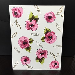 First time using @altenewllc stamp set... (tracieponddesigns) Tags: paintedflowers mftstamps uploaded:by=flickstagram altenew littlebugstudio instagram:photo=10190511236917419959006783 altenewllc