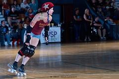 rebels_vs_panic_L3506724 1 (nocklebeast) Tags: ca usa santacruz rollerderby rollergirls zombies vampires skates organicpanic santacruzderbygirls redwoodrebels