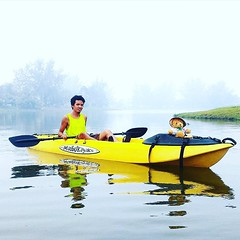 From Malaysia @hobobike  Thank you for sharing 😁👍😁👍😁👍 #malibukayaks #kayakfishing #kayak #outdoors #adventure #malaysia #paddleon