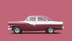 Cuban 1956 Ford Fairlane